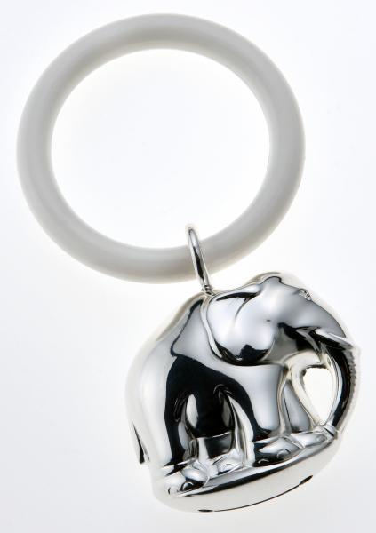 Rassel ELEFANT 925 Sterling Silber