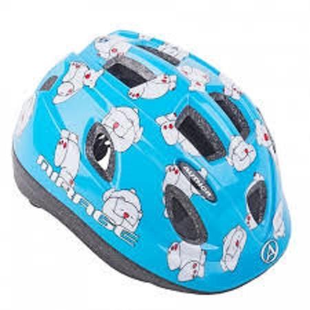 Fahrradhelm Hellblau