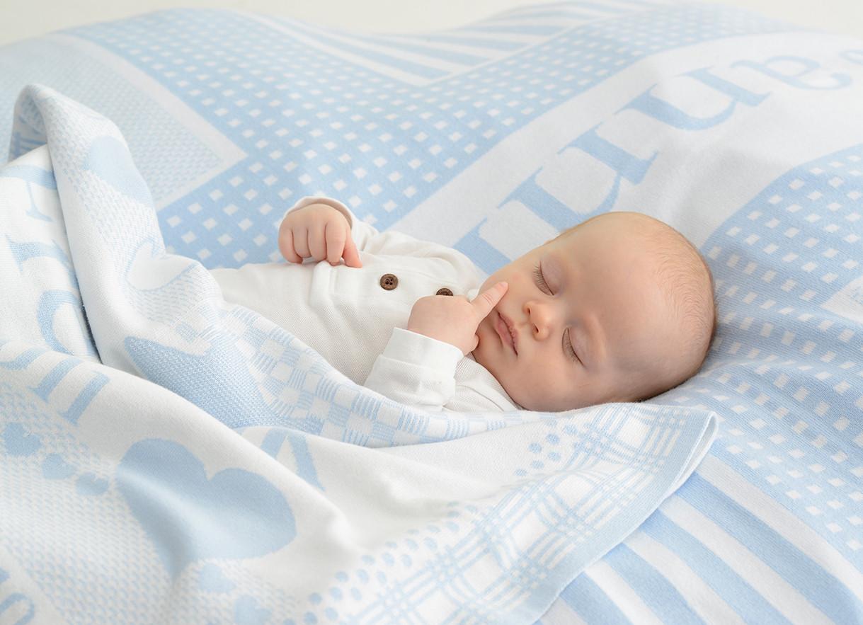 Baby-schlafen-Kuscheldecke-hellblau-Name-Babydeckeh0Byn3EqmiL16