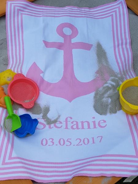 Sanfte Brise mit Namen in 7 Farben