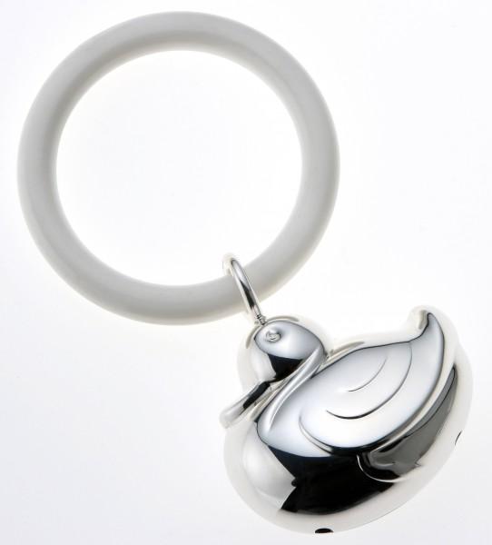 Rassel ENTE 925 Sterling Silber