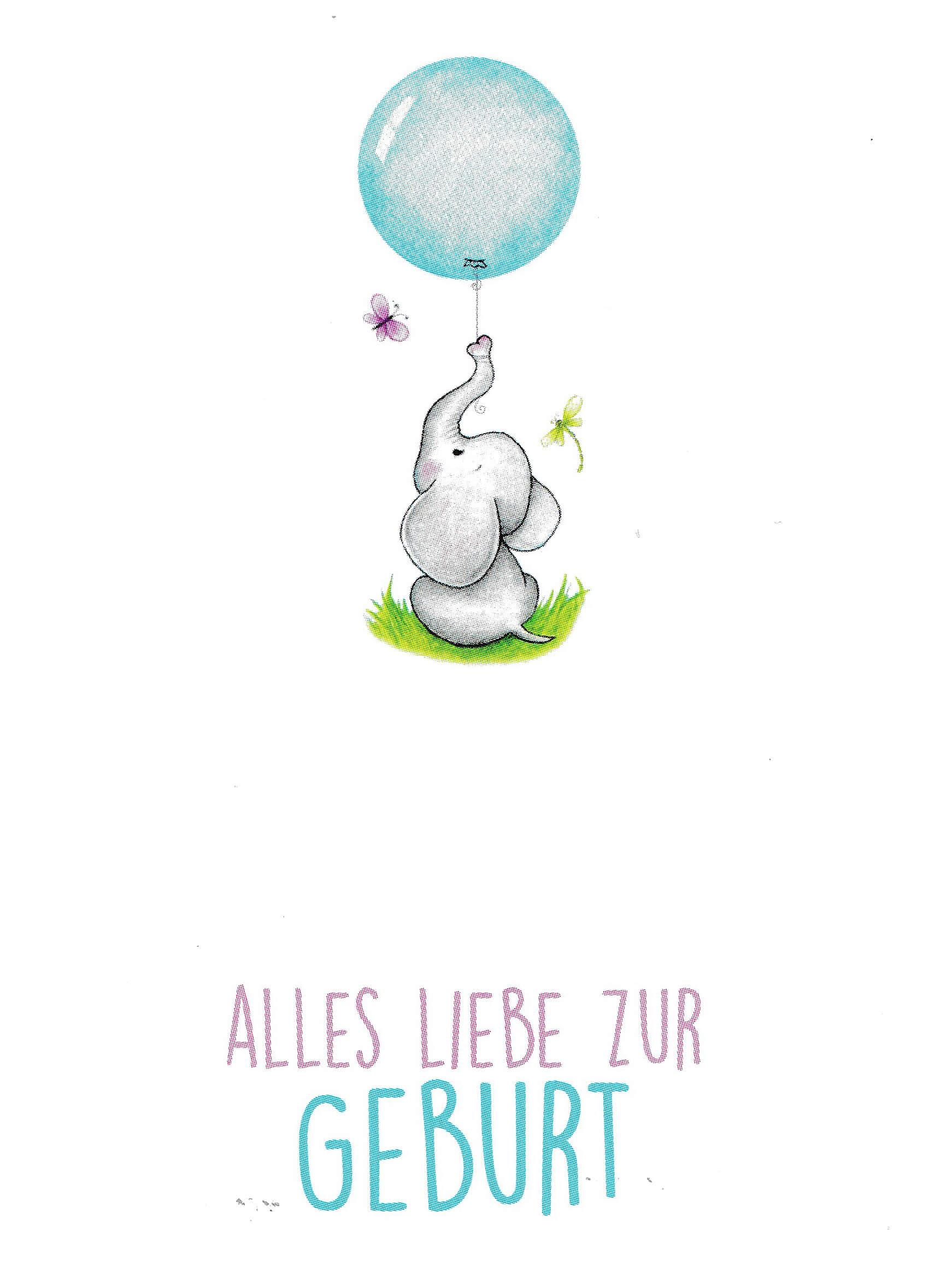 Grusskarte-Elefant-Alles-Liebe-zur-Geburtvg3kYibomKJT9